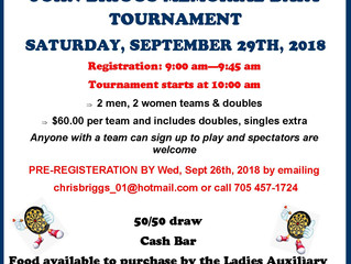 Are you skilled at cribbage or darts?      The Legion has some tournaments for you.