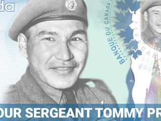 Honour Sergeant Tommy Prince