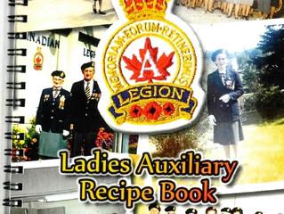Haliburton Legion Ladies Auxiliary 70th Anniversary (2015) Cookbook for sale for $10.00