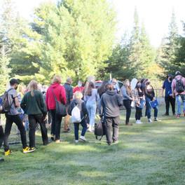 8. Haliburotn Highlands Secondary Students arrive.jpg