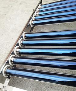 Soportes para el tubo de vacío