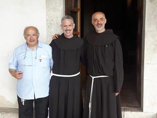 Il Ministro Generale dei Frati Minori in visita a sorpresa ai Santuari di Poggio Bustone e Fontecolo