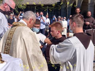 Professione semplice di Fr. Danilo Di Vincenzo