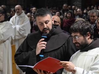 Professione solenne di Fr. Francesco Di Pede a Greccio