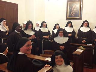 I cinquant'anni di vita religiosa di Sr. Maria Lucia delle Sorelle Povere di S. Chiara di Rieti.