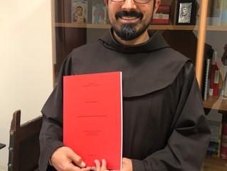 Fr. Francesco Lo Presti ottiene il Diploma di Licenza in Antropologia Teologica