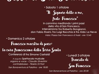 Festa di san Francesco al Palatino