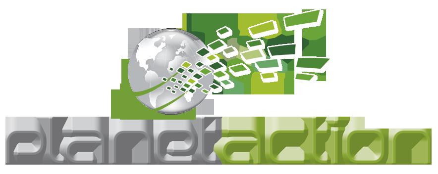 PlanetAction logo