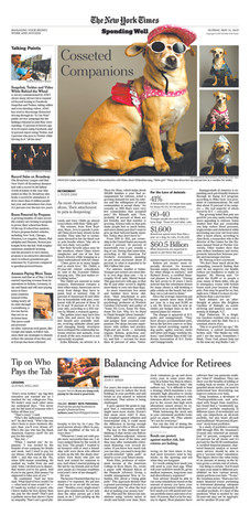 New York Times Spending Well