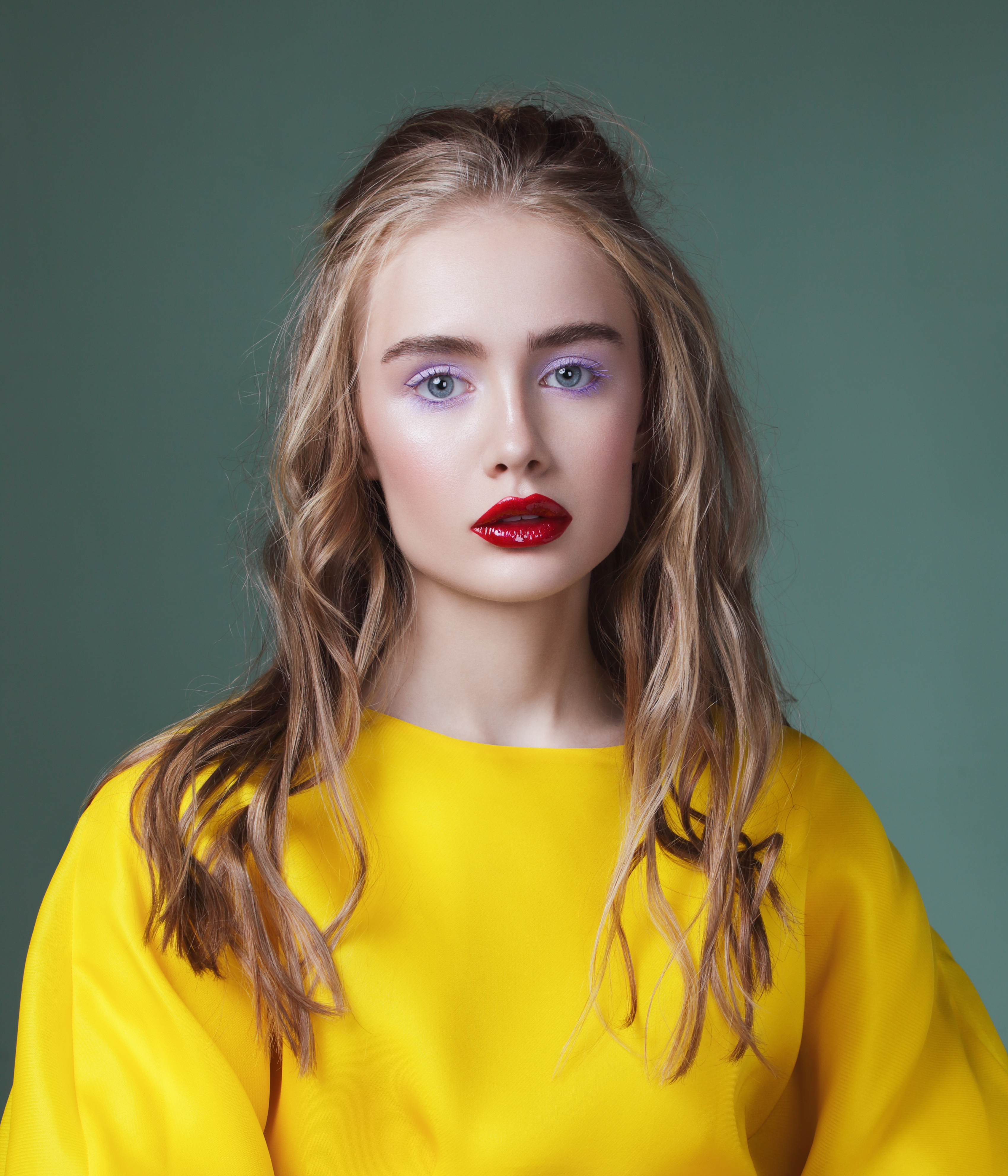 make-up-Modell