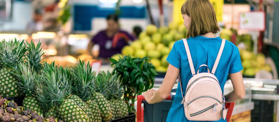 7 consejos para estar en presupuesto comprando alimentos saludables