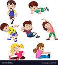 cartoon-kids-yoga-with-different-yoga-po