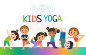 kids-yoga-horizontal-banners-design-conc