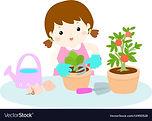 girl-planting-tree-cartoon-vector-149505
