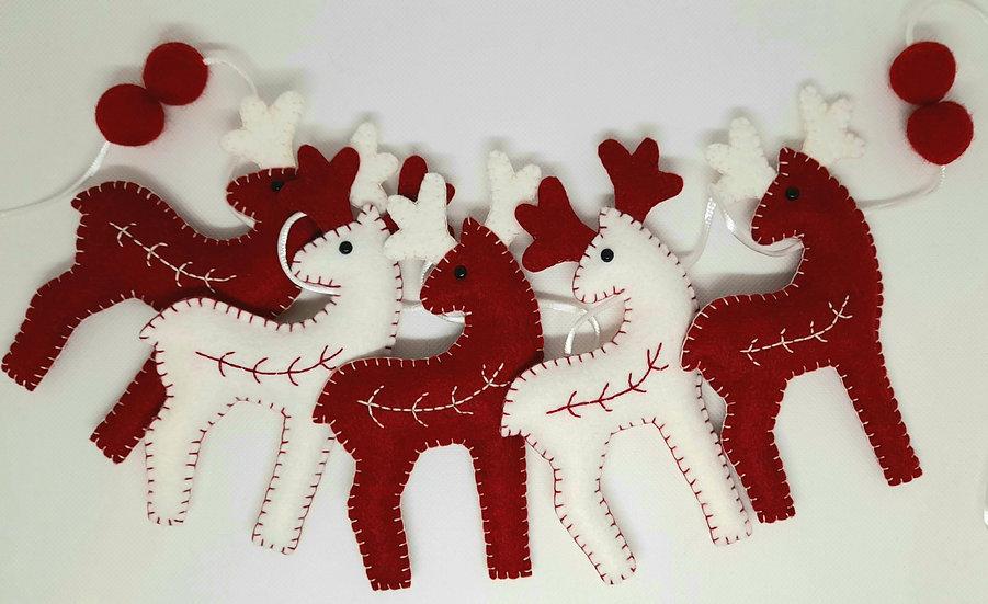 Nordic reindeer bunting