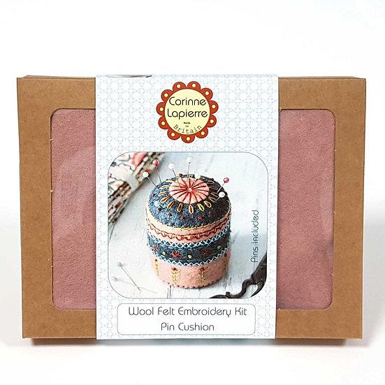 Felt Pincushion Embroidery Kit