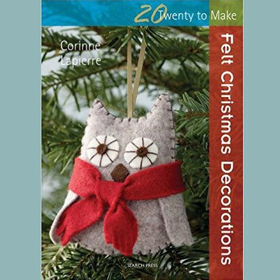Felt Christmas Decorations Book