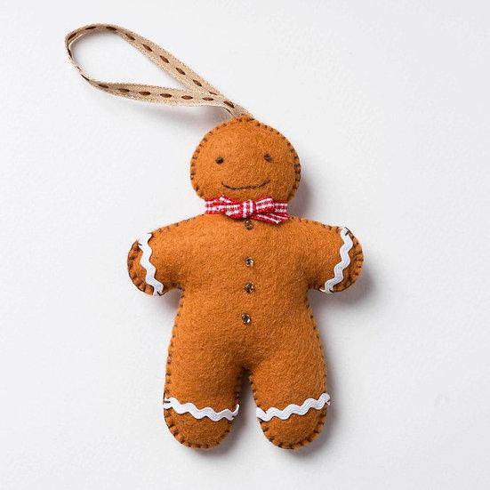Gingerbread Man Mini  Sewing Kit
