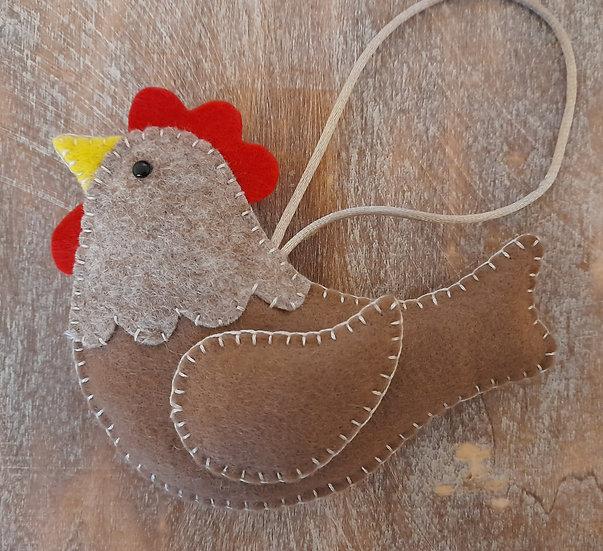 Happy Hen decoration