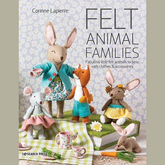 Felt Animal Families Project Book