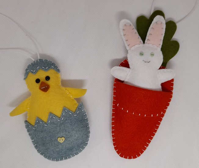 Bunny & Chick decorations