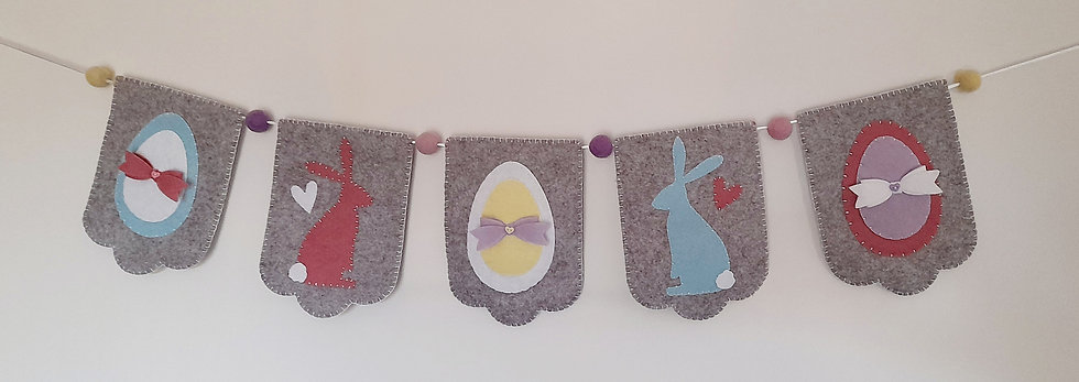 Easter flag bunting