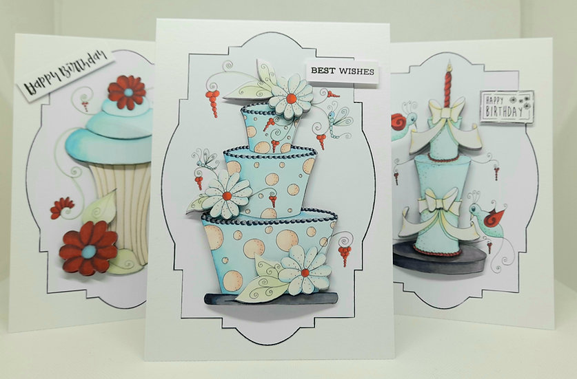 Fabulous cake card collection