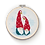 Thumbnail: Cross Stitch Nordic Gnomes