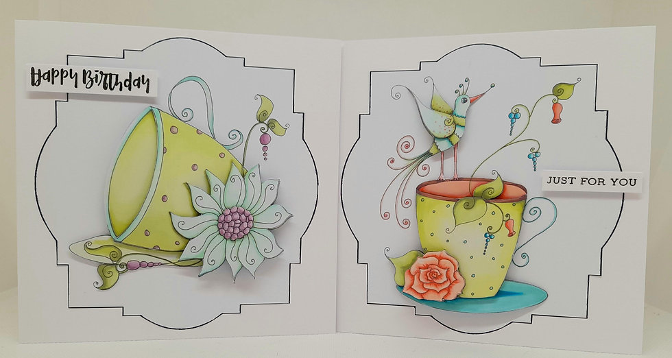 Time for tea card collection