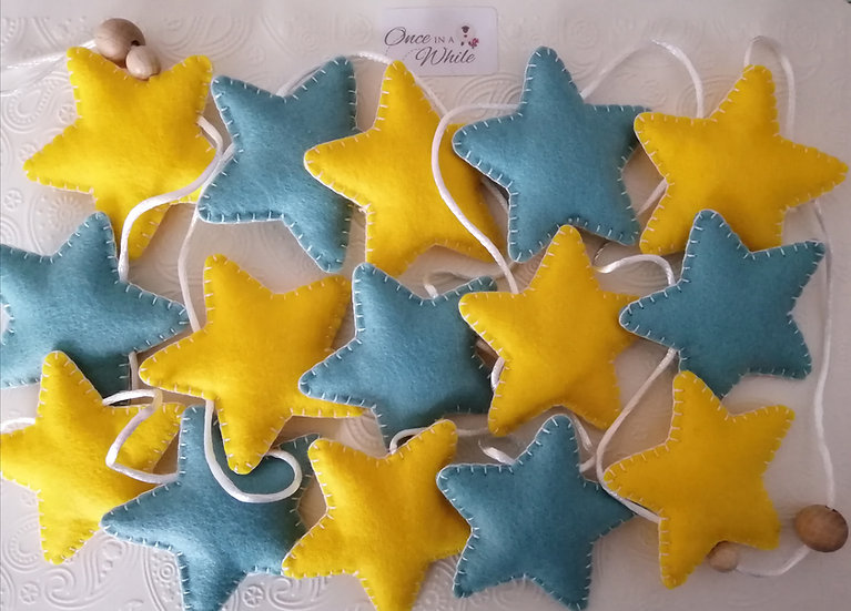 'You're A Star' felt bunting
