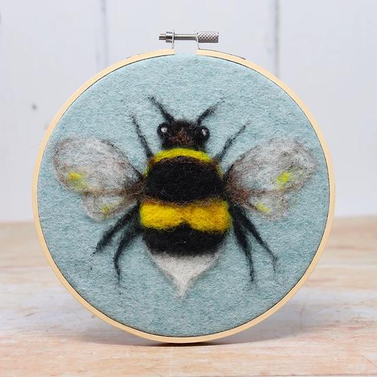 Bee In A Hoop