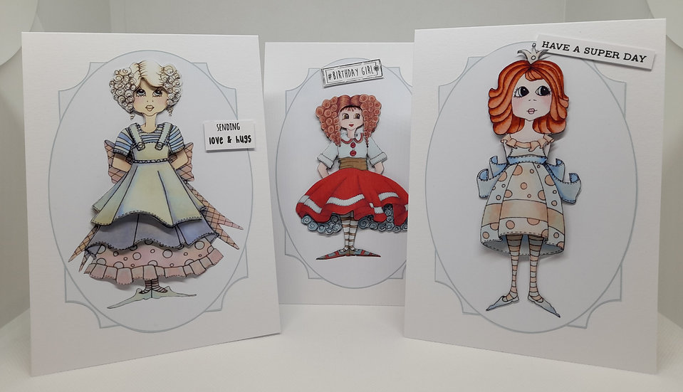 Fabulous Girls Card Collection
