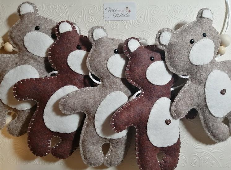Teddy Bear Bunting