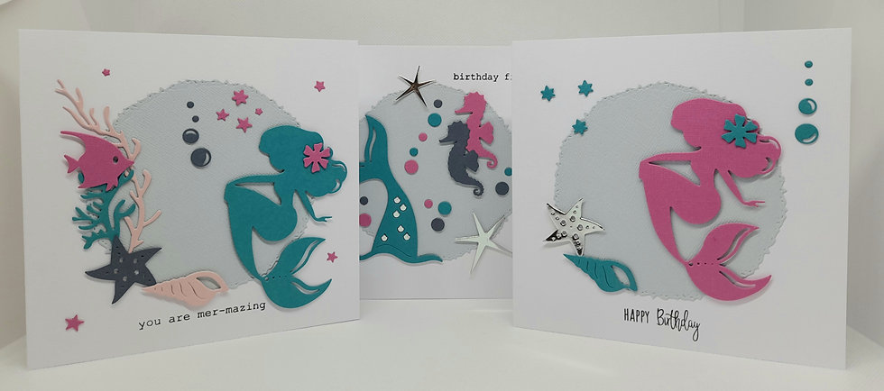 Under the sea card collection