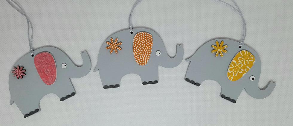 Elephant hanging decoration