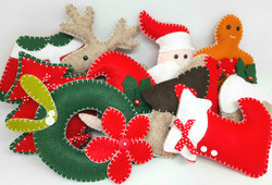Choose your own festive bunting