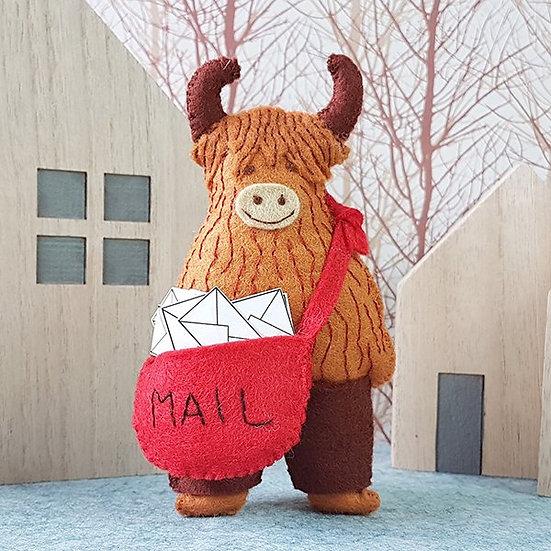 Angus The Postman