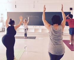 Family yoga with Lisa Palmer