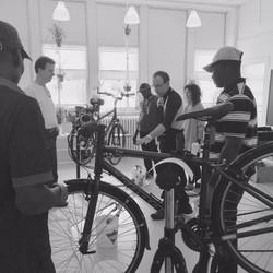 bike clinic b&w