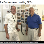 Bikes For Farmworkers creating BFFs