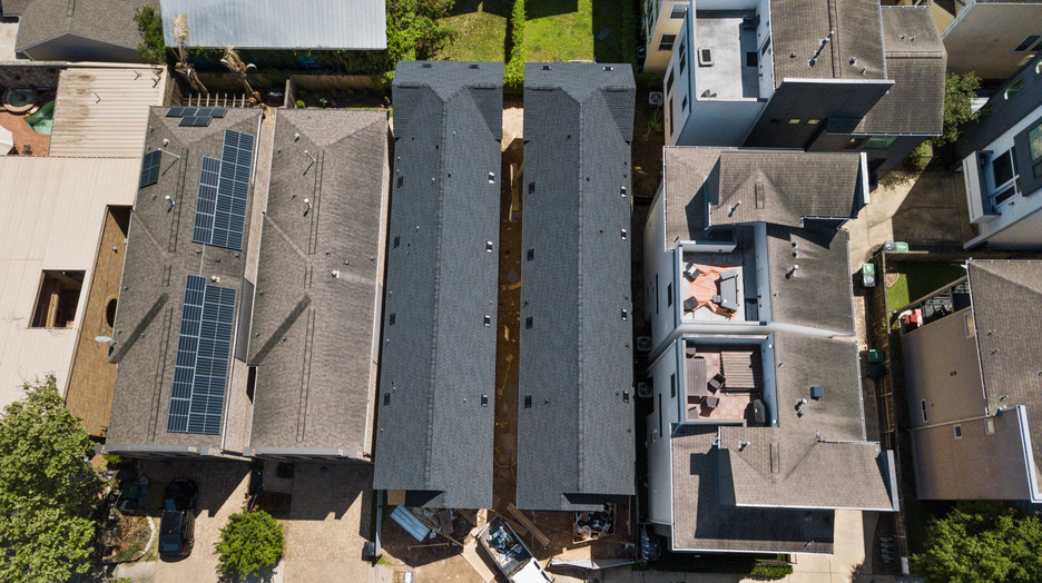 Aerial view at clyde st, Clyde Terrace