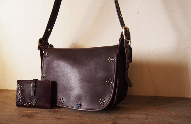 OLD COACH Brown Leather