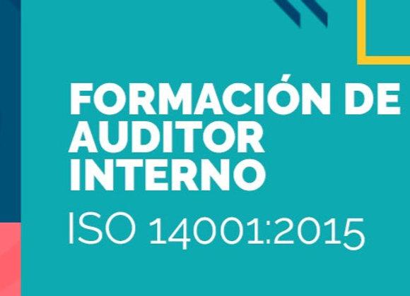 Formación de Auditor Interno ISO 14001:2015