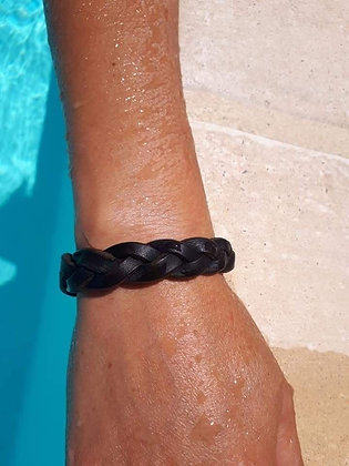 Bracelet tréssé mixte