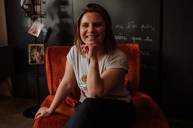 Pauline Depeyre, graphiste, web designer, ux designer et community manager freelance à Annecy, Prisme & Co, Prisme and Co