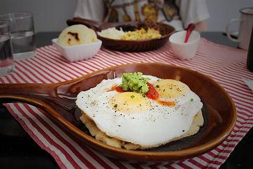 Gros plan sur un plat du restaurant Julieta spécialisé en cuisine latine à Montréal au Canada