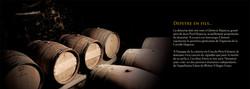 Création d'une brochure pour mettre en avant l'histoire, le terroir et les vins du Clos du Père Clém
