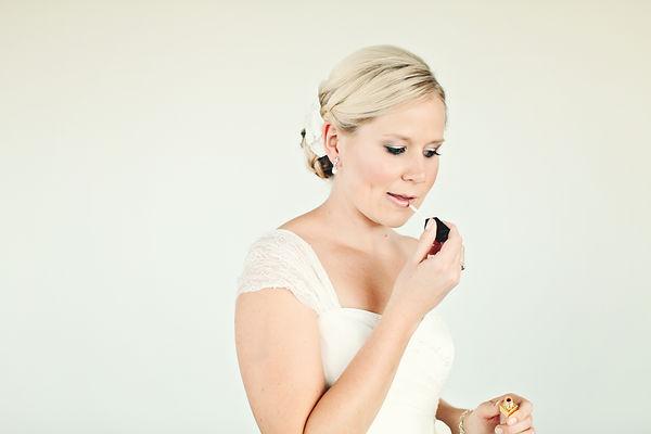 Wedding makeup by Kerrie Ordner