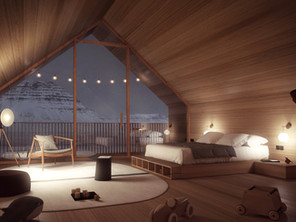 Icelandic hut | experimental collections | 2020