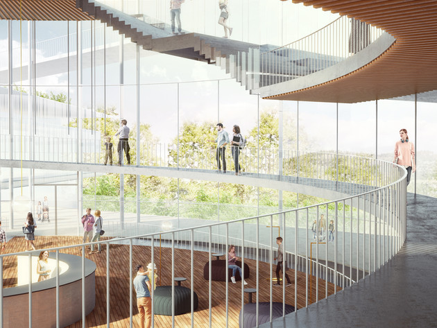 Academy of the Hebrew Language | K-P architects | 2020